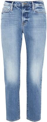 Frame Le Nouveau Straight light blue jeans