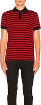 Saint Laurent Striped Polo
