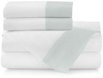 Peacock Alley Mandalay Cuff Sheet Set - Lagoon Queen