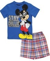 "Disney Mickey Mouse Clubhouse Little Boys' Toddler ""Stay Chillin'"" 2-Piece Outfit"