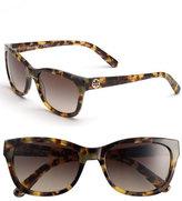 Tory Burch Women's 54Mm Sunglasses - Spotty Tortoise/ Brown Gradien