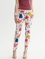 Banana Republic Camden-Fit Floral Ankle Pant