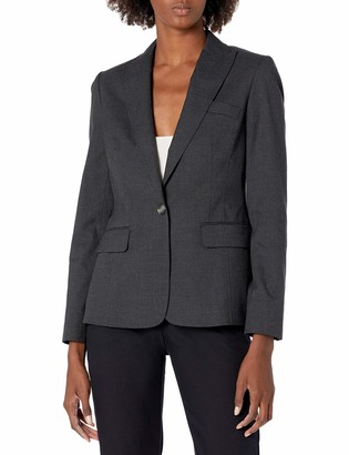 Jones New York Women's Washable Suiting One Button Jacket