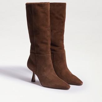 Samira Tall Kitten Heel Boot