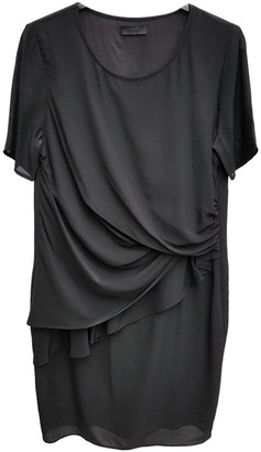 2nd Day Black Silk Dress for Women