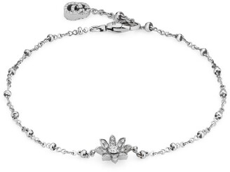 Gucci Flora 18k bracelet with diamonds
