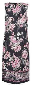 Dorothy Perkins Womens **Billie & Blossom Tall Black Paisley Print Shift Dress, Black