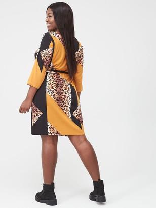 Junarose Koikeenan Mixed Print Dress - Multi