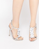 Asos HOTTIE Embellished Heeled Sandals