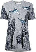 Stella McCartney patterned T-shirt - women - Cotton - 40
