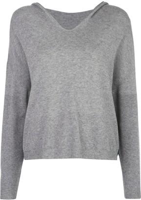 Apparis Aubrey fine knit hoodie
