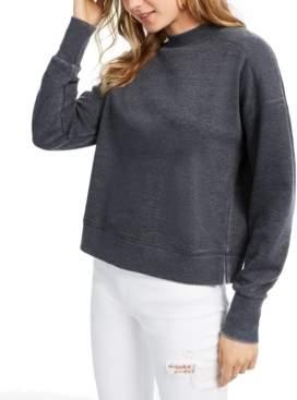 Hippie Rose Juniors' Mock-Neck Sweatshirt