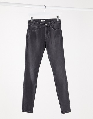 Wrangler skinny jeans in grey