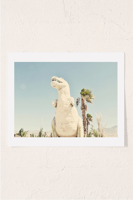 Urban Outfitters Urban Dreams Photography Palm Springs Dino Art Print