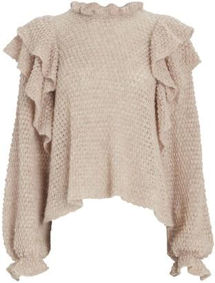 Ulla Johnson Camilla Frill Sweater