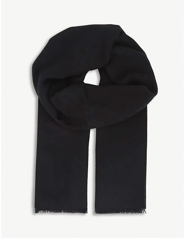 Gucci Logo cashmere scarf