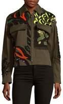 Versace Capospalla Military Jacket