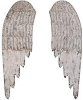Home Decorators Collection 44 in. H x 27.5 in. W Wooden Angel Wings Wall Art (Set of 2)