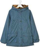 Stella McCartney leopard print lined coat