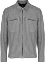 Vince Grey Nubuck Jacket