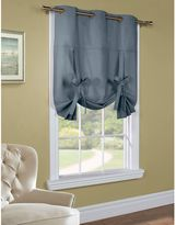 Commonwealth Home Fashions 63-Inch Room-Darkening Grommet Top Tie-Up Window Curtain Panel