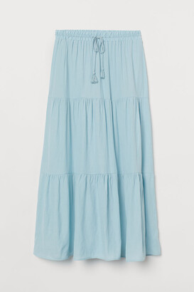 H&M Long Skirt - Turquoise
