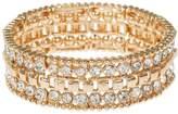 Mikey Filigree Cubic Square Elastic Bracelet