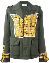 Faith Connexion printed military jacket