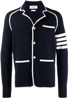 Thom Browne 4-bar Milano stitch sack jacket