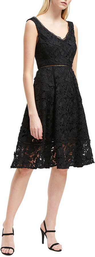 French Connection Blossom A-Line Dress