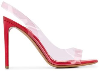 Alexandre Vauthier Amber Ghost slingback sandals