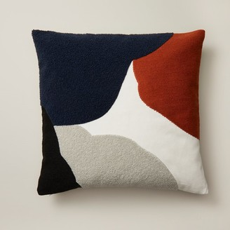 """Oui Abstract Pillow Cover Multi 18"""" X 18"""""""