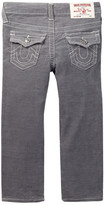 True Religion Slim Fit Corduroy Natural Single End Jean (Toddler & Little Boys)