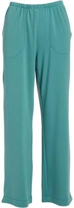 Fresh Produce Women's Casual Pants LGN - Green Side-Pocket Wide-Leg Pants - Women
