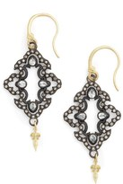 Armenta Women's Arementa Old World Open Scroll Drop Earrings