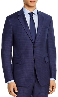 Theory Bowery Rainey Micro-Check Extra Slim Fit Suit Jacket