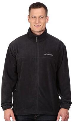 Columbia Big Tall Steens Mountain Full Zip 2.0 Jacket (Black) Men's Coat