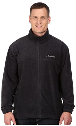 Columbia Big Tall Steens Mountaintm Full Zip 2.0 Jacket (Black) Men's Coat