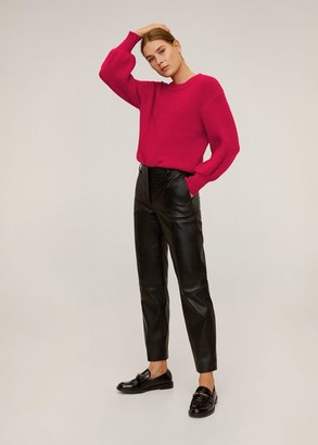 MANGO Puffed sleeves sweater light/pastel grey - XS - Women