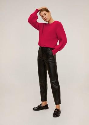MANGO Puffed sleeves sweater