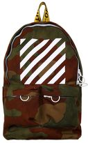 Off-White Camouflage Corduroy Backpack