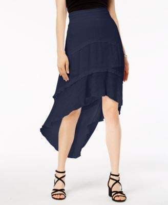 Amy Byer A. Byer Junior's Extreme High-Low Skirt