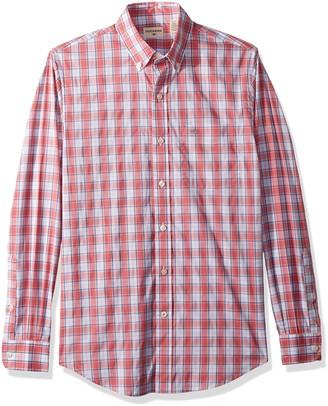 Dockers Long Sleeve Button Front Comfort Flex Shirt