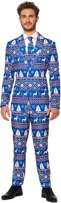 Nordic Men's Suitmeister Christmas Blue Suit