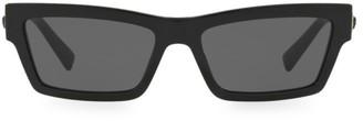 Versace 0VE4362 55MM Slim Square Sunglasses