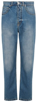 Lanvin Straight Cut Denim Jeans