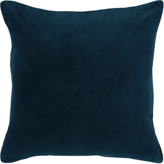 Wallace Cotton Andorra Large Square Cushion Cover Navy