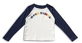 Sol Angeles Boys' Good Times Baseball Long Sleeve Tee - Little Kid, Big Kid