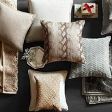 Williams-Sonoma Williams Sonoma Herringbone Suede Pillow Cover with Linen Backing