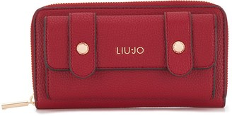 Liu Jo zip around branded wallet